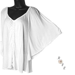 Eloquii by The Limited 14 16 Butterfly Sleeve Top